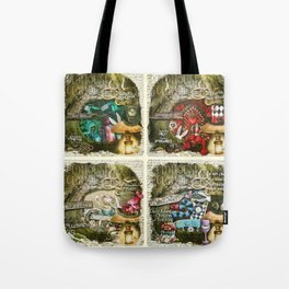 Alice of Wonderland Series Tote Bag