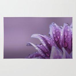 Gerbera. Flower Macro Rug