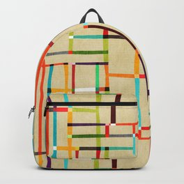 The map (after Mondrian) Backpack
