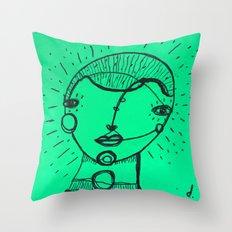 My next door neighbor, Vincent Throw Pillow