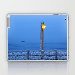 Frosted Light and Ship Laptop & iPad Skin