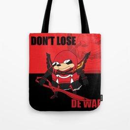 Don't Lose De Wae Tote Bag