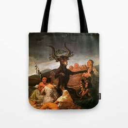 The Sabbath of witches - Goya Tote Bag