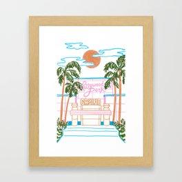 Hollywood Park Casino Framed Art Print