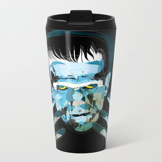 Frankie Metal Travel Mug