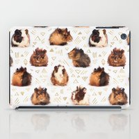 guinea pig iPad Cases featuring The Essential Guinea Pig by micklyn