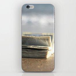 Book on the Beach iPhone Skin