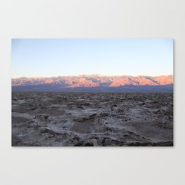Death Valley at Dawn Canvas Print