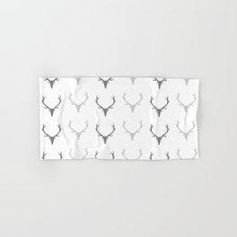 Deer Antler Pattern Hand & Bath Towel