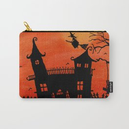 Haunted House Witch Play Carry-All Pouch