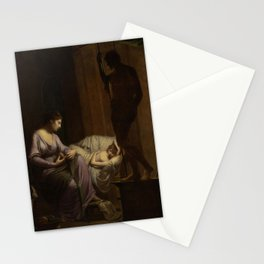 Joseph Wright of Derby - Penelope Unraveling Her Web Stationery Cards