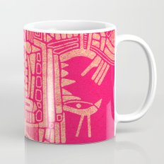 - the pink stencil - Mug
