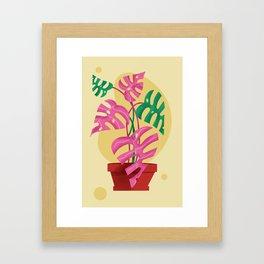 Plant Love Framed Art Print