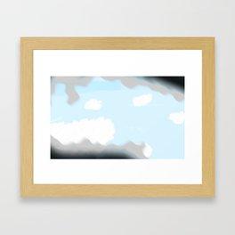 1:59:36 AM Framed Art Print