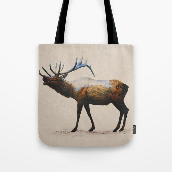 The Rocky Mountain Elk Tote Bag