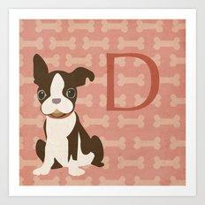 D. Art Print