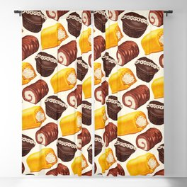 Hostess Cake Pattern Blackout Curtain