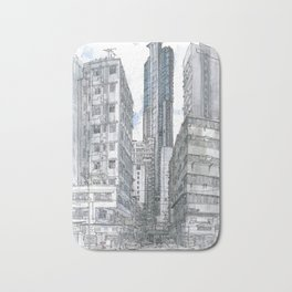 Hong Kong. Burrows street Bath Mat