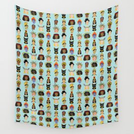 Goddesses Around the World Wall Tapestry
