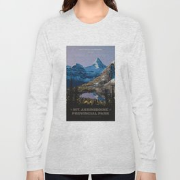 Mt. Assiniboine Provincial Park Long Sleeve T-shirt