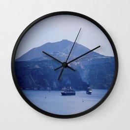 Santorini, Greece 8 Wall Clock
