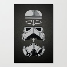 construct-a-trooper. Canvas Print