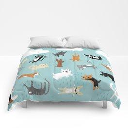 Raining Cats & Dogs Comforters
