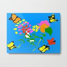 butterfly world Metal Print