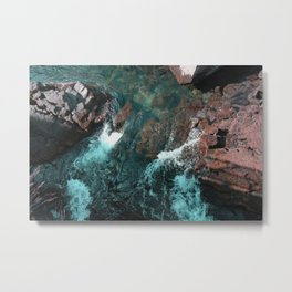 Icelandic waters Metal Print