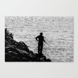 A FIsherman's Tale. Canvas Print