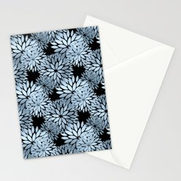 Pretty Blue Mum Floral Pattern Stationery Cards