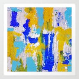 Abstact Expression No. 15 Art Print