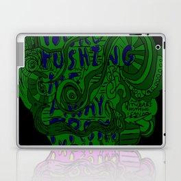 Pushing Me Away From You Laptop & iPad Skin