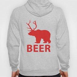 DEER & BEAR = BEER Hoody