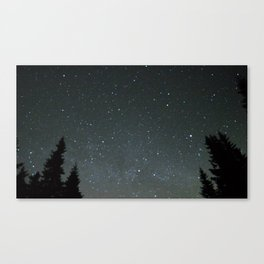 postcard from earth Canvas Print