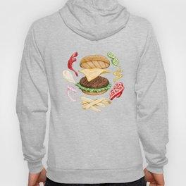 Burger Mandala Hoody