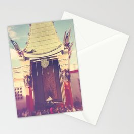 Grauman's Chinese Theatre. Hollywood LA photograph Stationery Cards