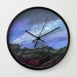 starlight wilderness Wall Clock
