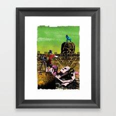 Never ending day Framed Art Print