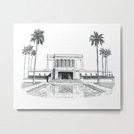 Mesa Arizona LDS Temple Metal Print