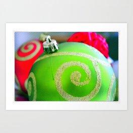 Christmas Ornaments   Nadia Bonello Art Print