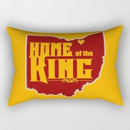 Home of the King (Yellow) Rectangular Pillow
