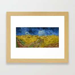 Vincent van Gogh - Wheatfield with Crows Framed Art Print