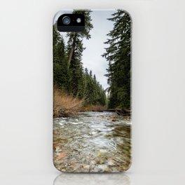 Hackleman Creek iPhone Case