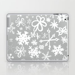 Snowflake Concrete Laptop & iPad Skin