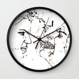 Descend Into Rage Wall Clock