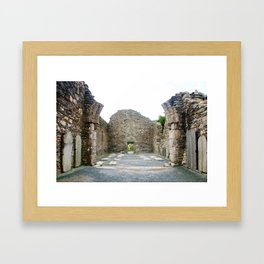 Ruins of Cathedral of St. Peter and St. Paul Framed Art Print