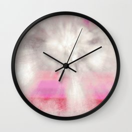frosted cosmic Wall Clock