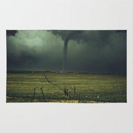 Tornado Coming (Color) Rug