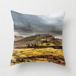 Return to Eilean Donan Castle, Scotland Throw Pillow